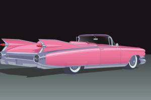 59 Cadillac Vector Illustration