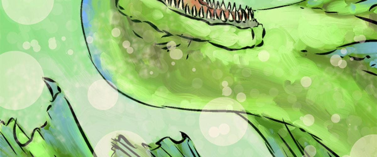Card illustration for the Monster Derby board game