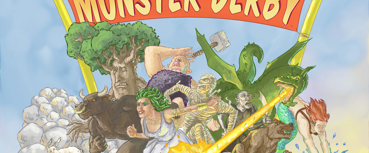Monster Derby box cover