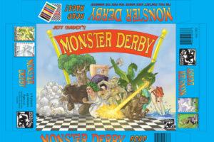 Monster Derby box top design