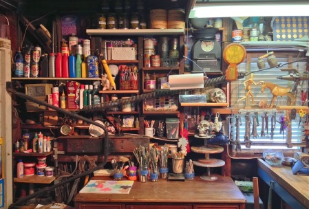 Neal Von Flue's studio, El Segundo art classes